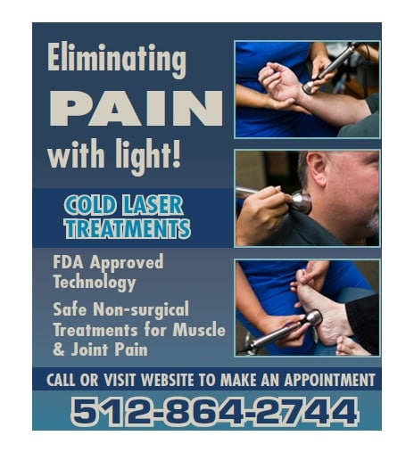 Chiropractic Georgetown TX Cold Laser Therapy