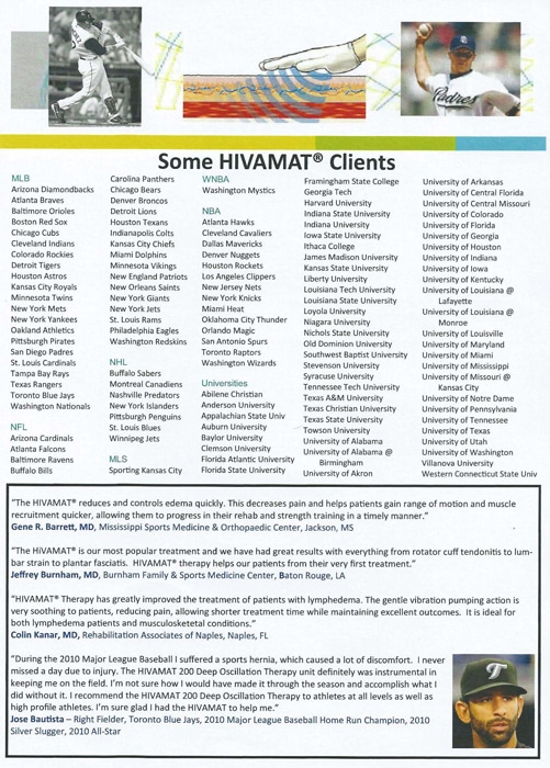 Chiropractic Georgetown TX HIVAMAT Clients