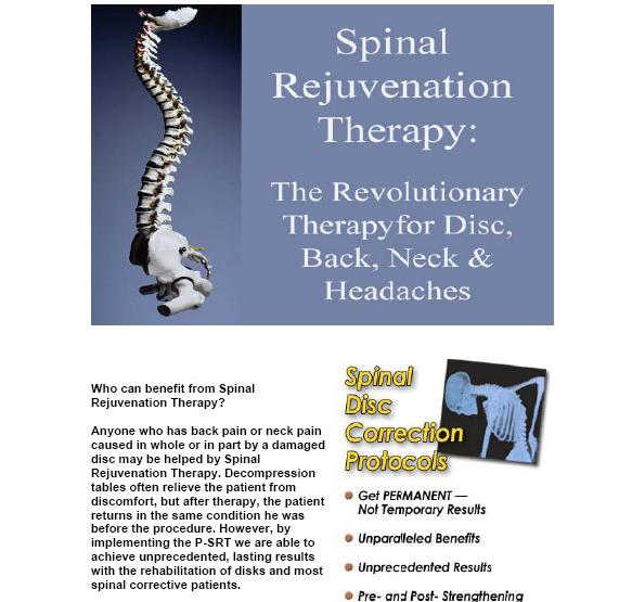 Chiropractic Georgetown TX Spinal Rejuvenation Therapy